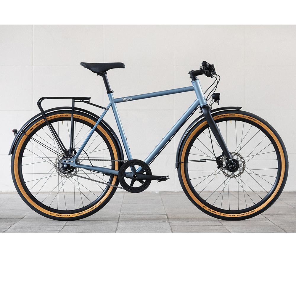 8bar complete bike mitte steel blue urban lr 11 MITTE STEEL V2 URBAN