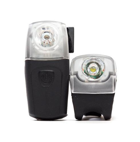State Bicycle Co USB Rechargeable Silicon Bike Light front rear set 2 Set lumini (silicon / usb)