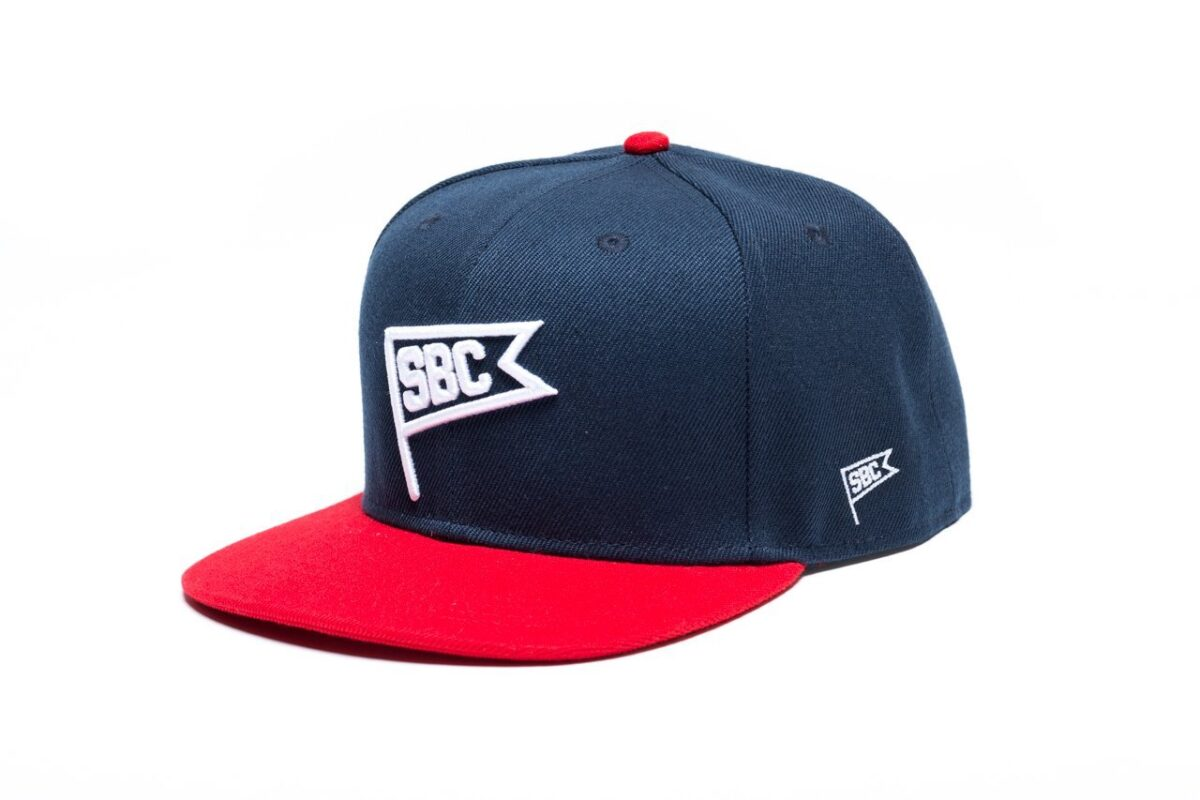 State Bicycle Co Fly It High Blue Red Snapback Front ecc5bb5f b68e 4bb2 abab 9d81086d5527 Sapca State Bicycle Co. Fly It high
